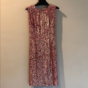 J.Crew Collection Pink Sequins Party Dress